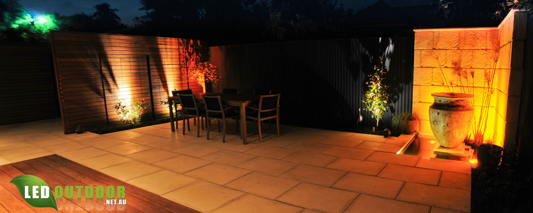 Amber LED Pond Lights Fire up the Mood - LED Outdoor on Amber Outdoor Living id=44897