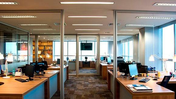 Aplicação do LED Tubular T8 20W 120cm em Escritórios e Empresas