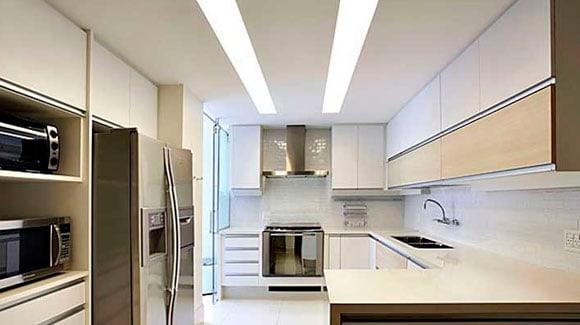 Aplicação LED Tubular 18W em Residências