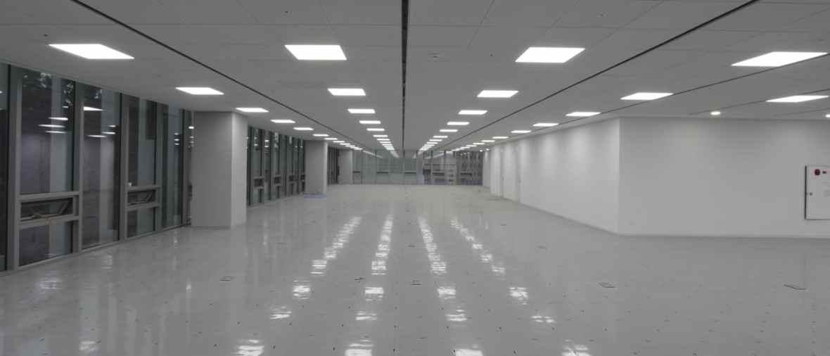 Aplicação do Painel de LED Quadrado em Saguão