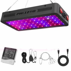 Phlizon LED Review - 600W Double Switch (Full Spectrum) - LED Grow Light Review