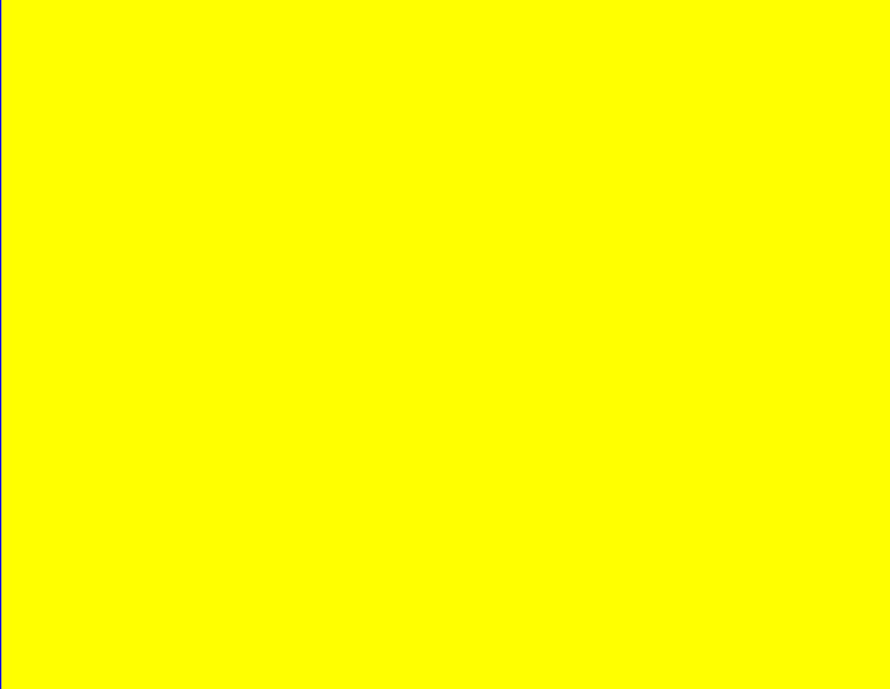 Pure Yellow Test Screen