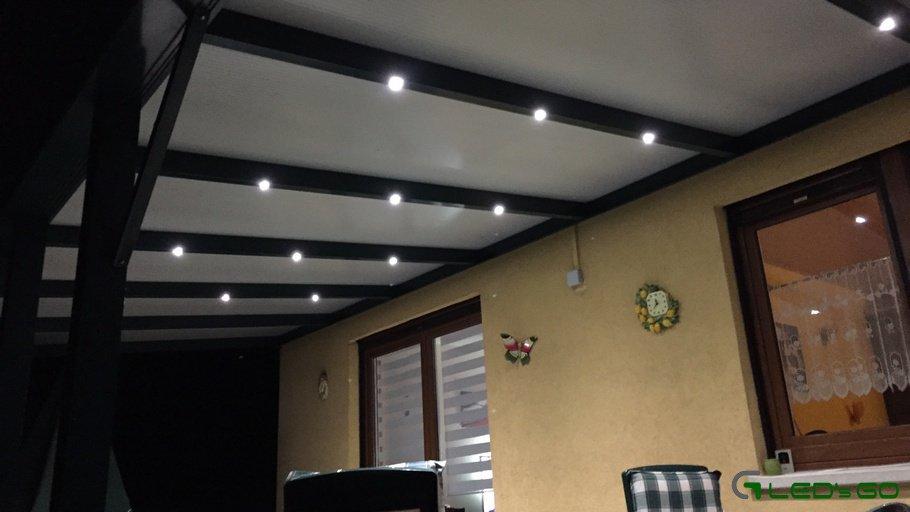 eclairer votre veranda avec des led
