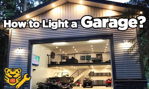 garage lighting ideas how to light up