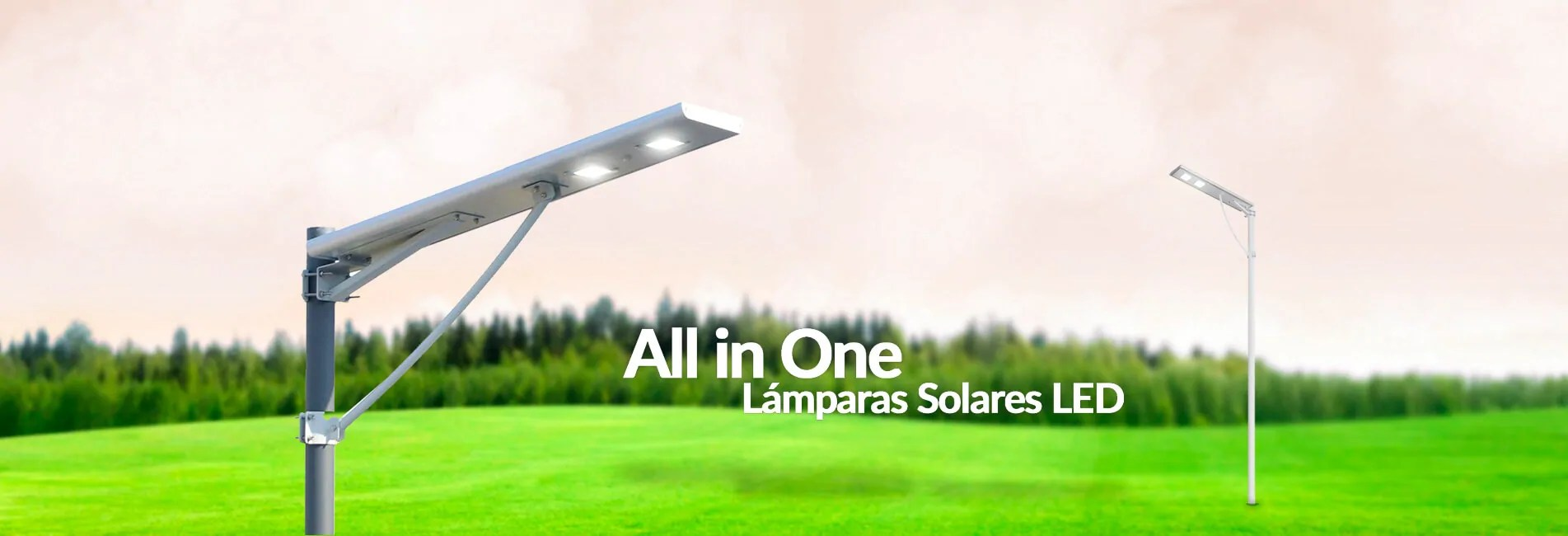 Lámparas Solares All in ONE