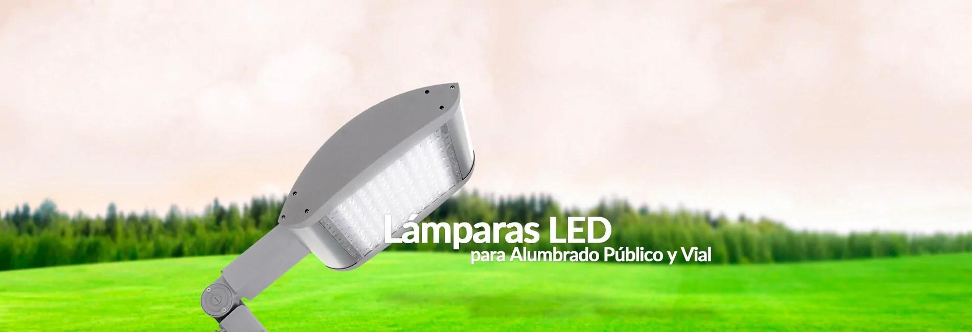 Lámparas LED para alumbrado público