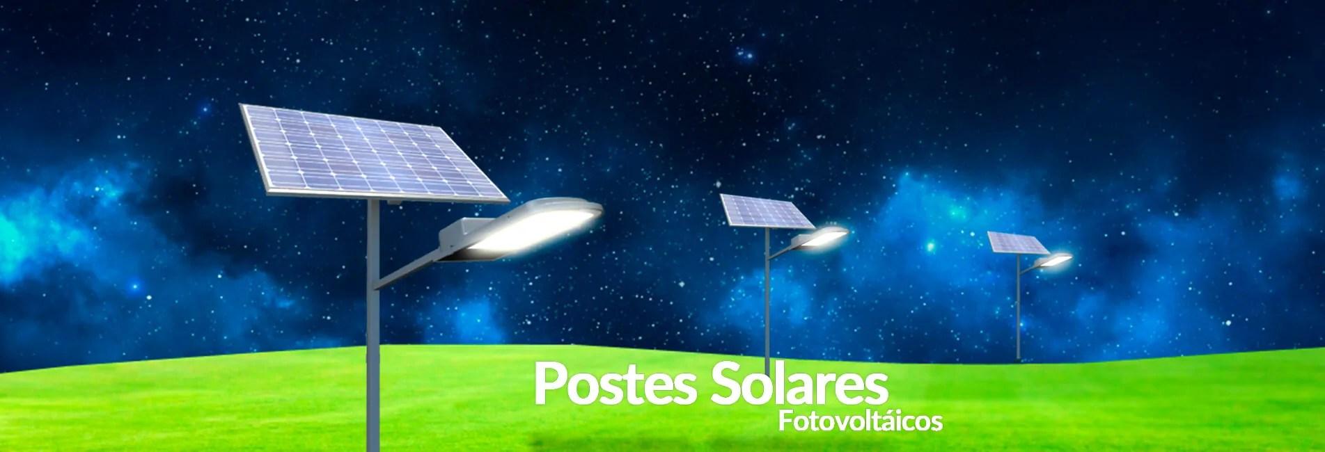 L mparas solares postes solares l mparas led - Lamparas led solares ...