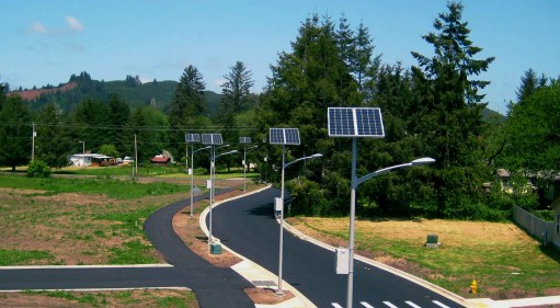 Postes solares para jardín - LEDSolar