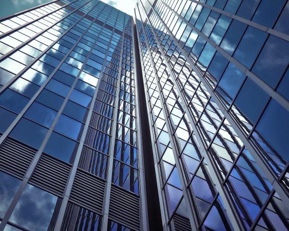 Grattacielo cetro e acciaio