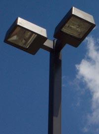 commercial parking lot light pole kits