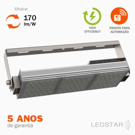 Luminária Industrial LED High Bay High Efficieny