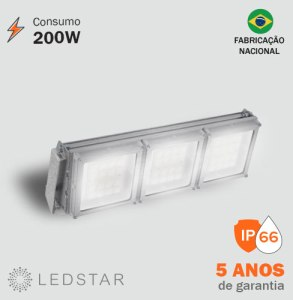 Projetor LED 200W High Pole 6.1