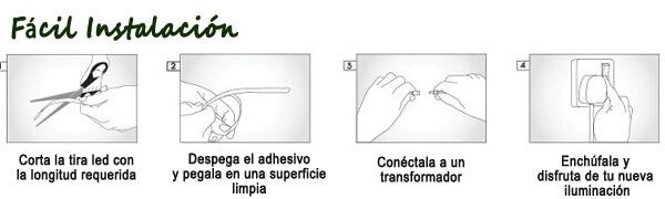 como crear efectos en barra de tragos con tiras led