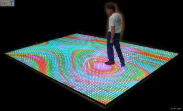Videoboden 500 x 360 cm