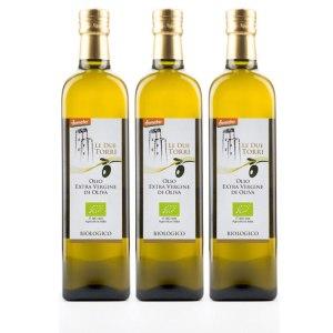 3 x Bottiglie Olio Extravergine Oliva BIO Demeter