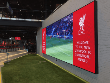 Indoor led displays for sports