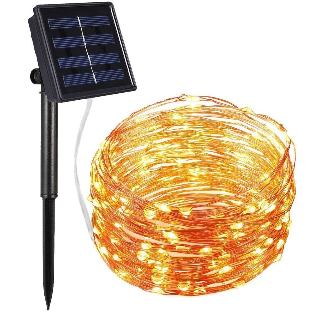 Solar Powered Fence Lights