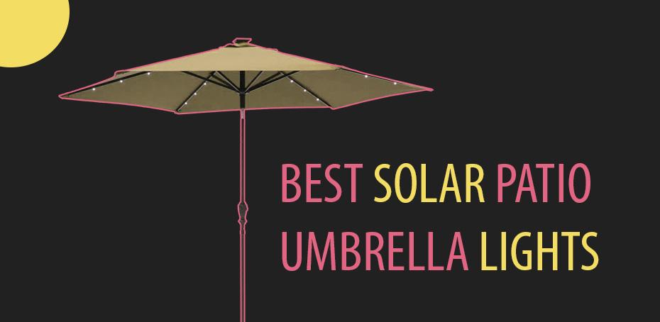 best solar patio umbrellas and umbrella