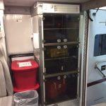 UVC Sanitizing Light In Patient Compartment