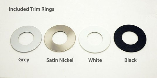 Trim ring color options