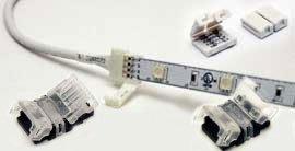 RGB LED Strip Light Connectors