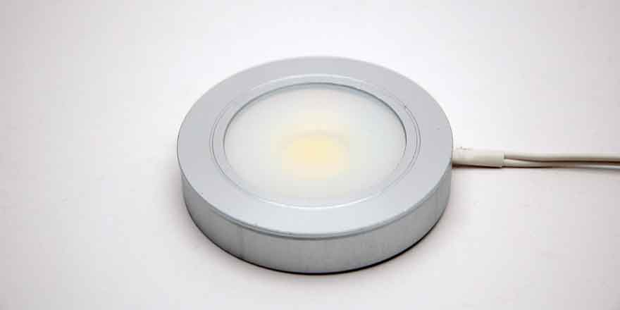 Dimmable led puck light recessedsurface mounted 20881 x led world tags cob light recessed mount surface mount under cabinet led light aloadofball Image collections