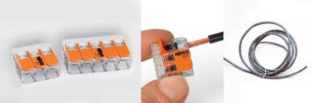 WAGO quick connectors