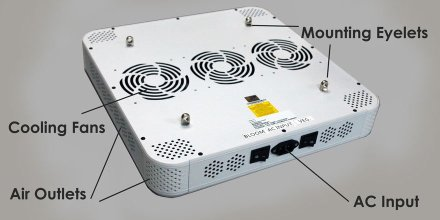 300W LED Grow Light Features