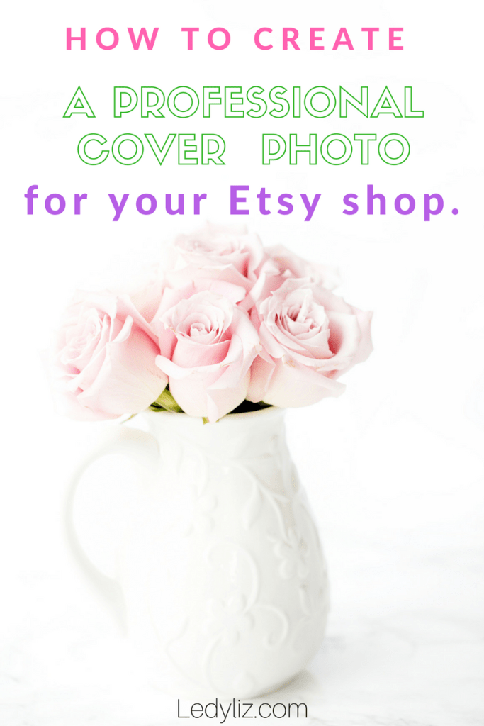 r how some Etsy shops have beautiful banner covers? Now you can create your OWN, with this step -by-step instruction guide. How to create a professional Etsy banner/cover photo