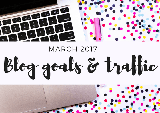 March Blog Goals and February Review