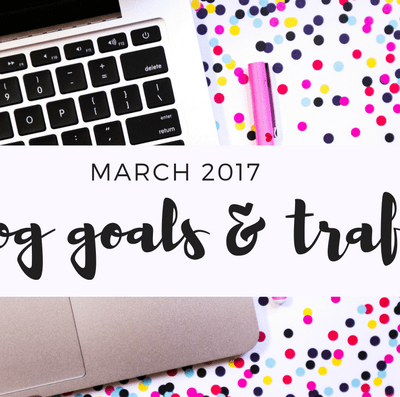 See how one blogger prioritizes her blogging goals and goes over her previous months goals and achievements.