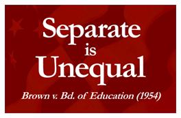 separate is unequal