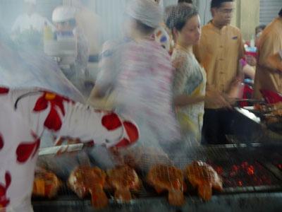 People in Vietnam working