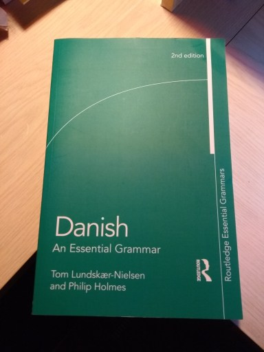 Danish: An Essential Grammar book cover