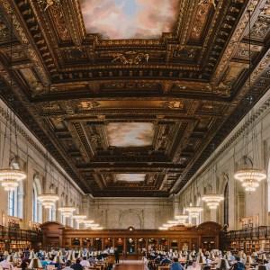 Background Image: New York Public Library Courtesy: Flickr user draelab