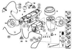 Kompressor Luftversungsanlage 5er (37106793778