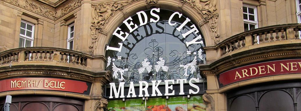 Image result for Leeds market