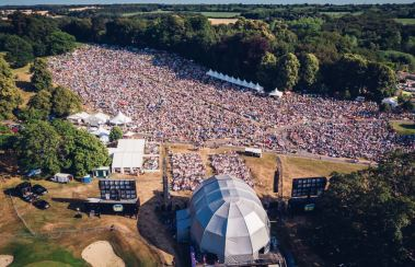 Arieal View of Concert