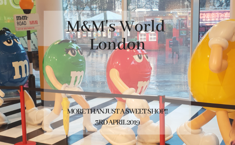 M&M's World splash image