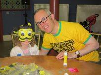 leeds dad and daughter
