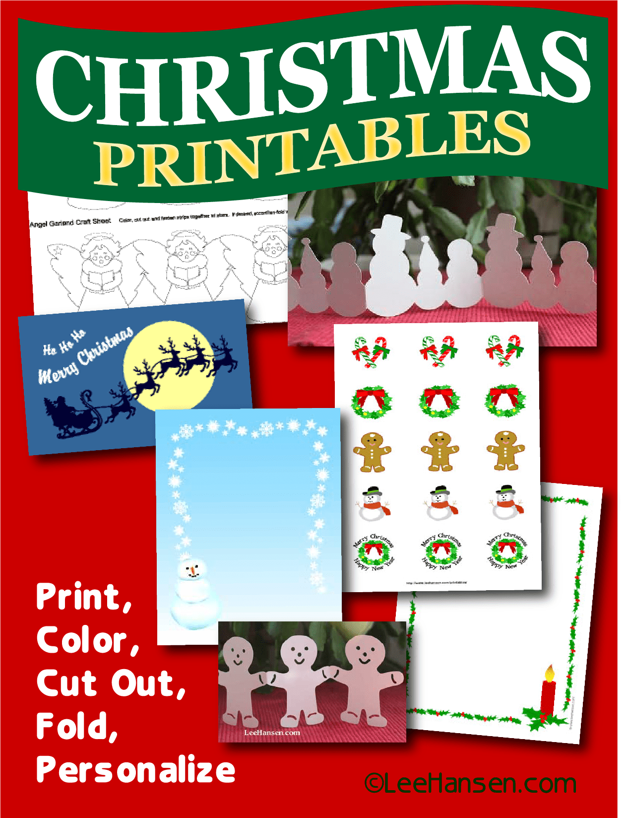 Christmas Printables And Activity Pages
