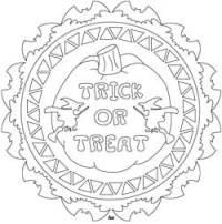 free printable halloween mandala coloring pages