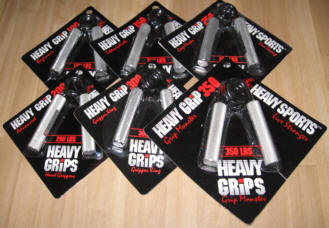 All 6 Heavy Grips Hand Grippers