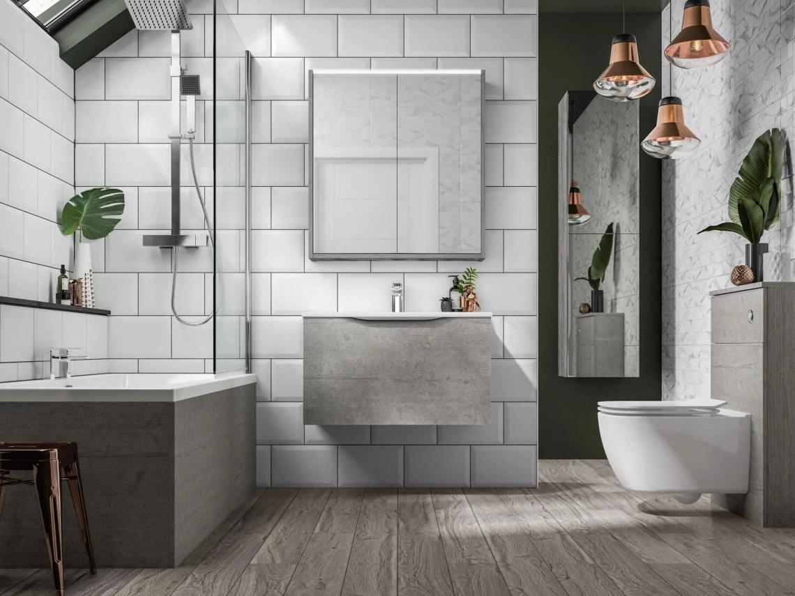 Modern Bathrooms | Leekes Kitchens