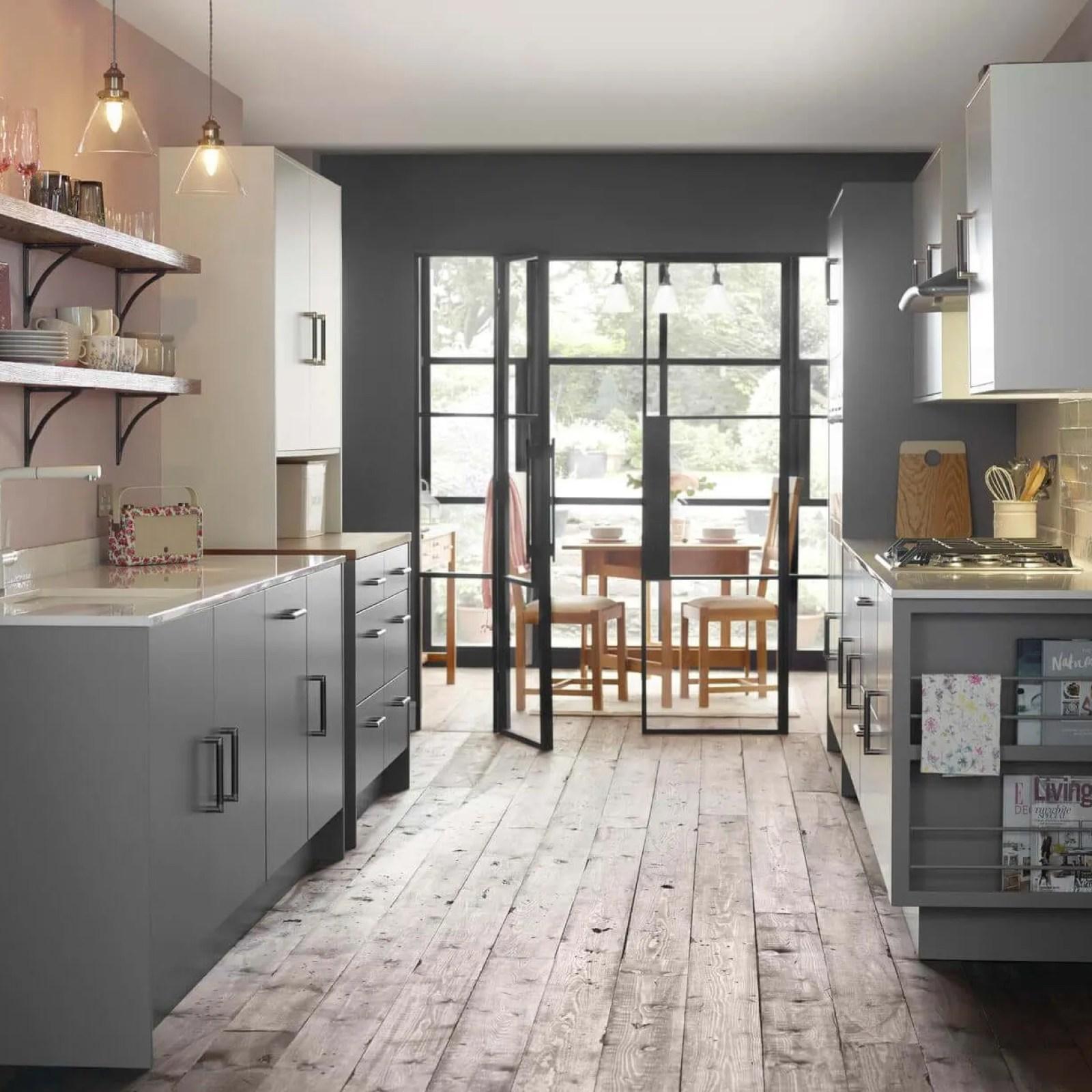 Grey Kitchens Colour Schemes Leekes Kitchens