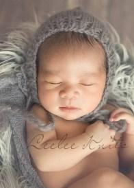 Newborn Pixie Hat Knitting Pattern