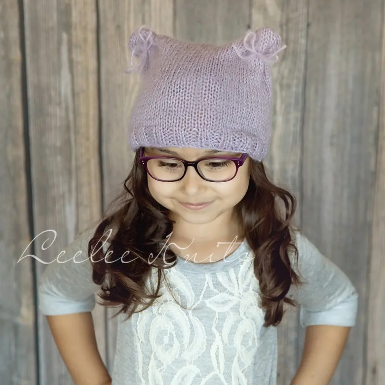 Soft Beginner Knit Hat Pattern Leelee Knits