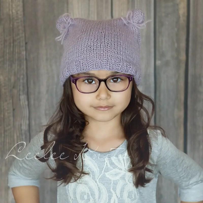 1b3a3b0bd bear hat knitting pattern Archives - Leelee Knits