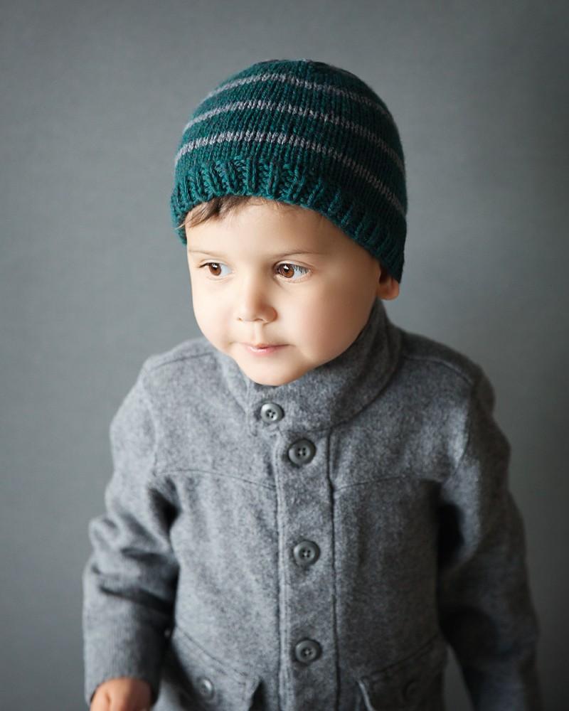 Free Knit Beanie Pattern 1