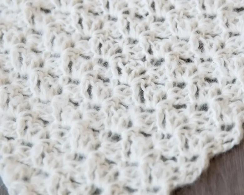 Free Newborn Wrap Crochet Pattern 3